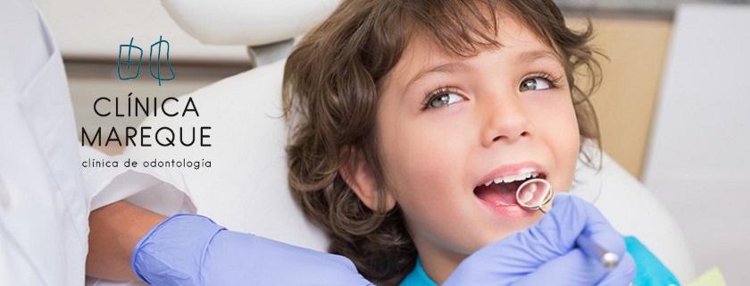 pulpotomía dentista niños en Pontevedra